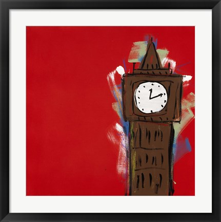 Framed Big Ben Print