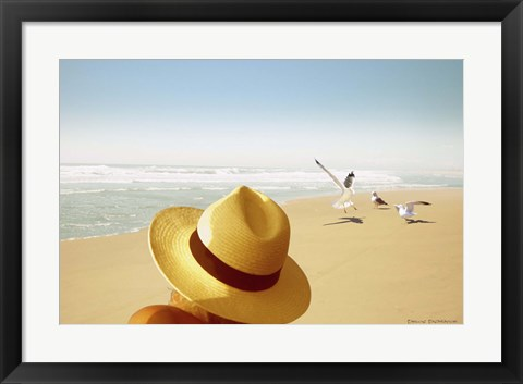 Framed Memories on the Beach 2 Print