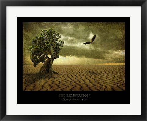 Framed Temptation Print