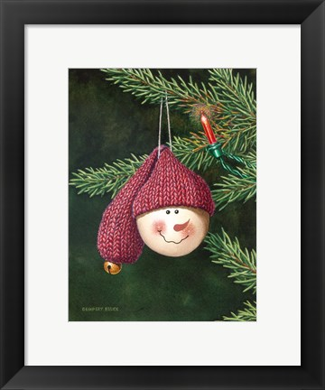 Framed Christmas Smile Print