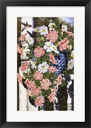 Framed Summer Fragrance Cropped Print