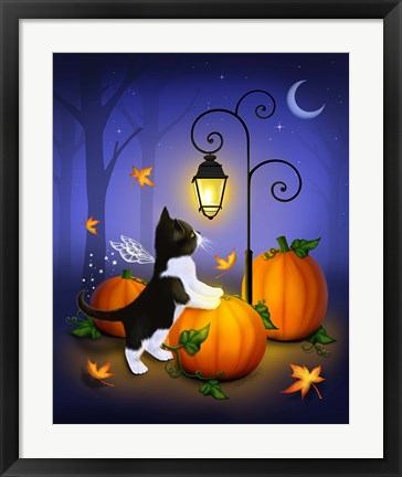 Framed Autumn Twilight Print