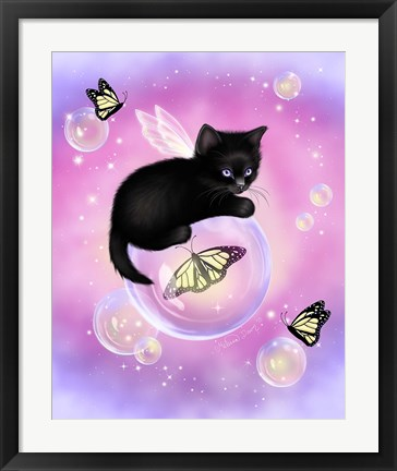 Framed Dawn Bubbles Print