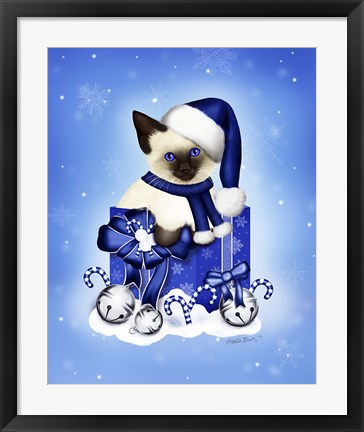 Framed Blue Winter Print