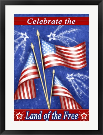 Framed Celebrate Freedom Print