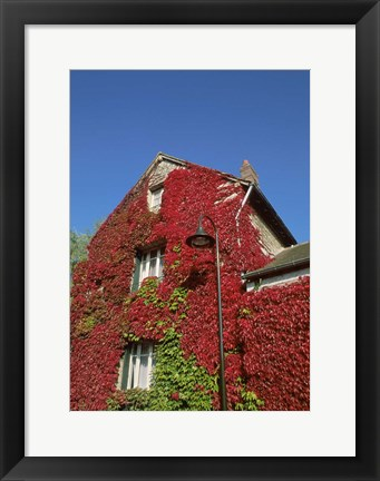 Framed Home of Monet, Giverny, France Print