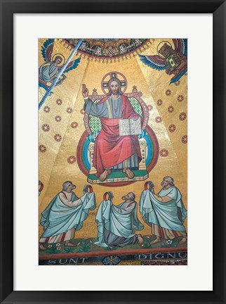Framed Aachen Cathedral Print