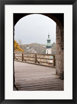 Framed Burghausen Castle, Germany Print