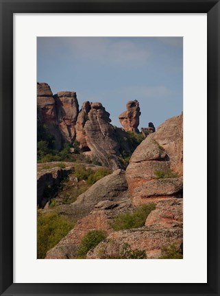 Framed Bulgaria, Belogradshick Rocks Print