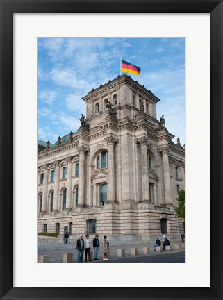 Framed Bundestag, Berlin, Germany Print