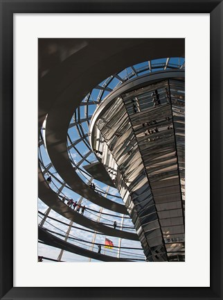 Framed Reichstag, Berlin, Germany Print