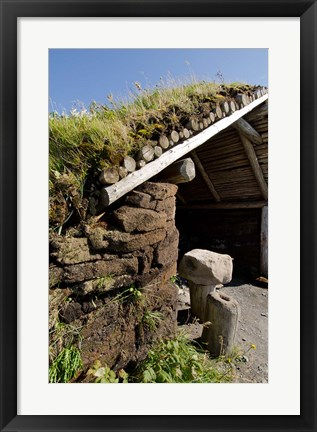 Framed L'Anse aux Meadows Print