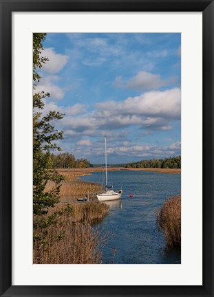 Framed Sailing near Turku Holiday Club Print