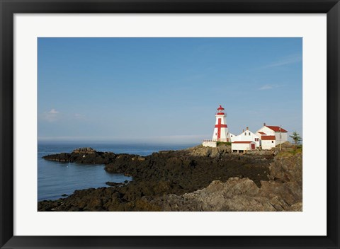Framed East Quoddy Lighthouse Print