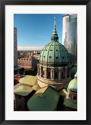 Framed Mary Queen of the World Cathedral Print
