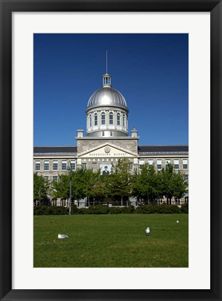 Framed Bonsecours Market Print