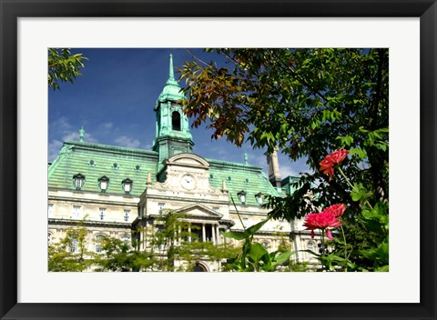 Framed Jacques Cartier Square Print