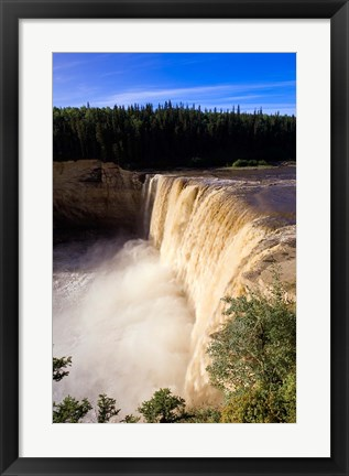 Framed Louise Falls, Twin Falls Gorge Print