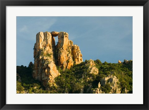 Framed Red Rock Formations by UNESCO World Heritage Site Print