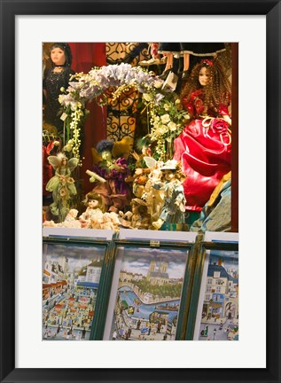 Framed Parisian Prints, Place du Tertre Print