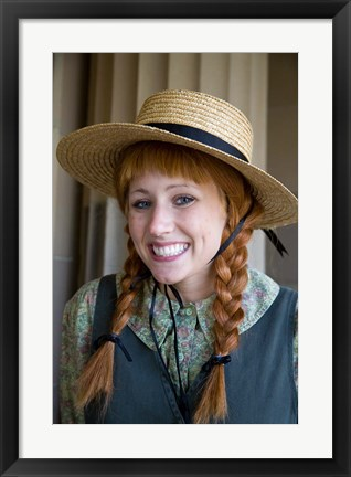 Framed Anne Of Green Gables Print