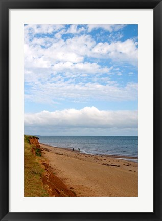 Framed Beach at Cape Orby Print