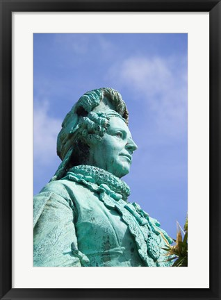 Framed Statue of Queen Sophie Amalie Print