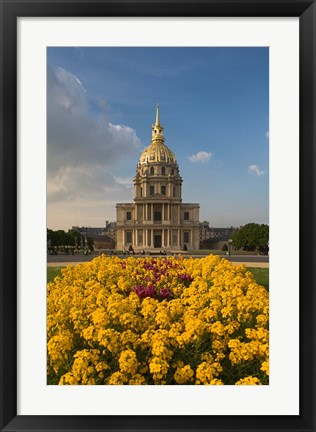 Framed Hotel des Invalides, Paris, France Print