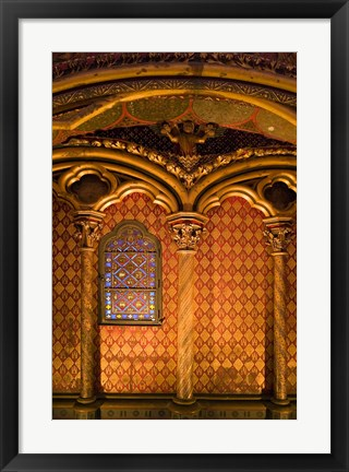Framed Saint Chapelle, Paris, France Print