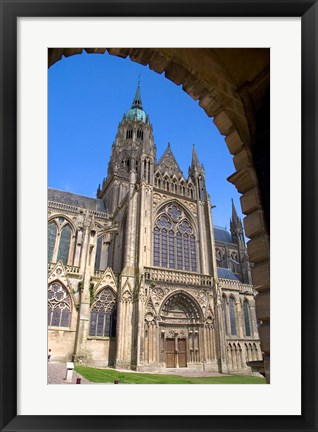 Framed Bayeux Cathedral Print