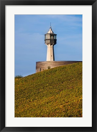 Framed Champagne Ardenne Lighthouse in Mame, France Print
