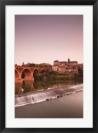 Framed Midi-Pyrenees at Dusk Print
