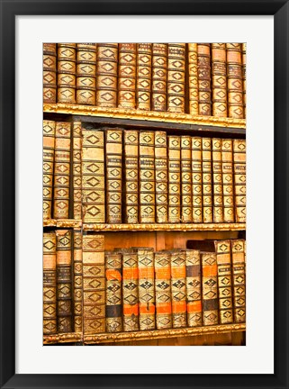 Framed Austria, Melk Abbey library Print