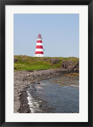 Framed Brier Island Lighthouse, Canada Print