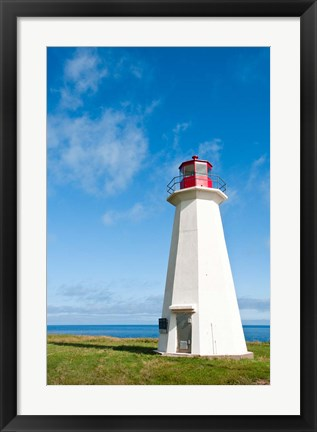 Framed Shipwreck Point Lighthouse Print