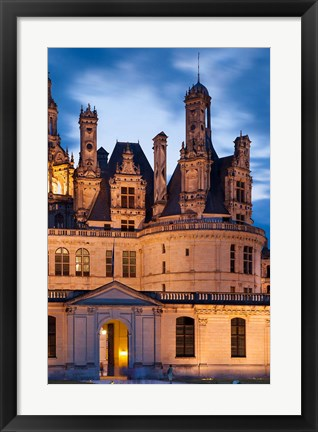Framed Chateau Chambord, Loire Valley Print