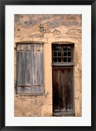 Framed Architectural Detail, France Print