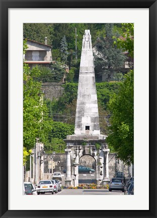 Framed Pyramid in Vienne, Isere Isere, France Print