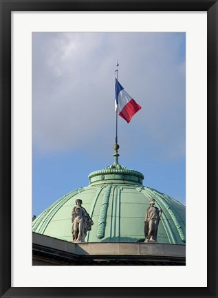 Framed Legion of Honor Dome, Paris, France Print