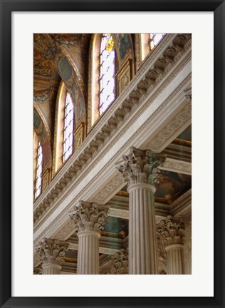 Framed Royal Chapel, Versailles, France Print