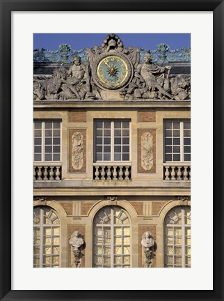 Framed Chateau of Versailles, France Print