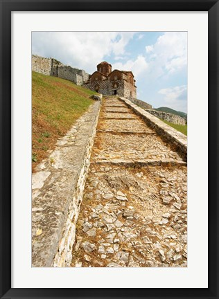 Framed Hagia Triada Church, Albania Print