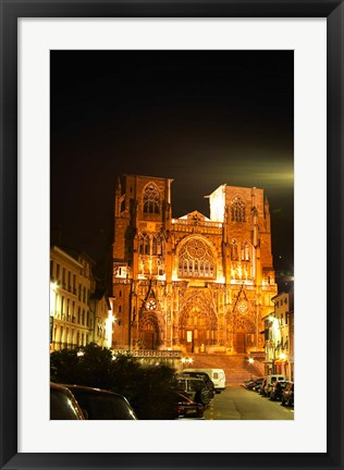 Framed Saint Maurice Cathedral, France Print