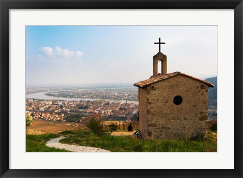 Framed Hermitage Church Chapel, Drome, France Print