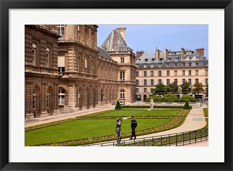 Framed Palais du Luxembourg, Paris, France Print