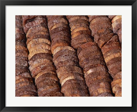 Framed Dried Figs, Normandy, France Print