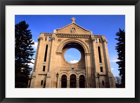 Framed St Boniface Cathedral Print