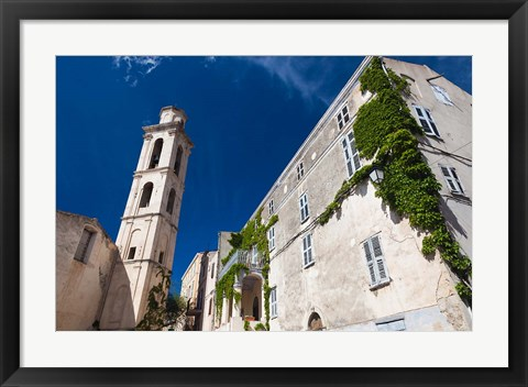 Framed Town church of Montemaggiore Print