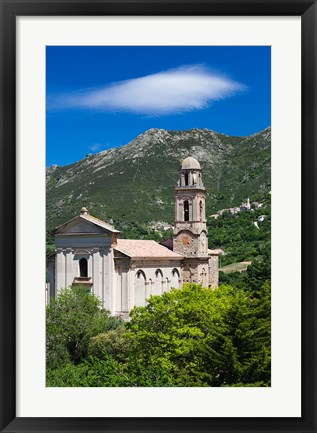 Framed Town Baroque Church Print