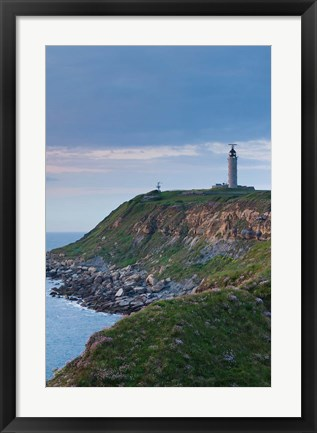 Framed Cap Gris Nez Lighthouse View Print